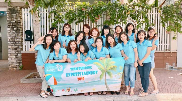 EXPRESS LAUNDRY'S TEAM BUILDING 10/2018