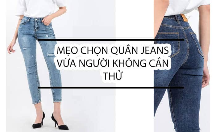 TIPS FOR A MEDIUM-SIZED JEANS